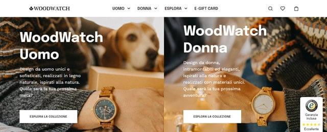 woodwatch orologi in legno