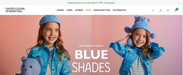 Benetton abbigliamento bambini