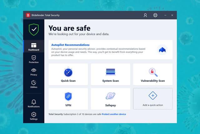 Bitdefender antivirus online