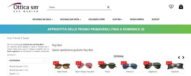 Ray-Ban nuova collezione su Emporium Italy
