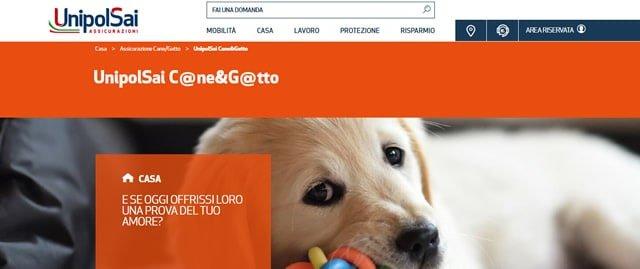 UnipolSai assicurazione cane e gatto