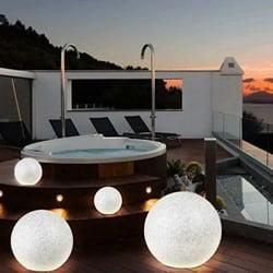 Lampada sfera giardino