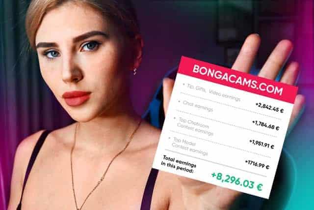 BongaCams guadagni
