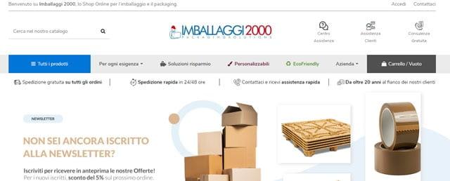 imballaggi2000 scatole di cartoni pluriball
