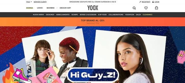 Yoox Abbigliamento